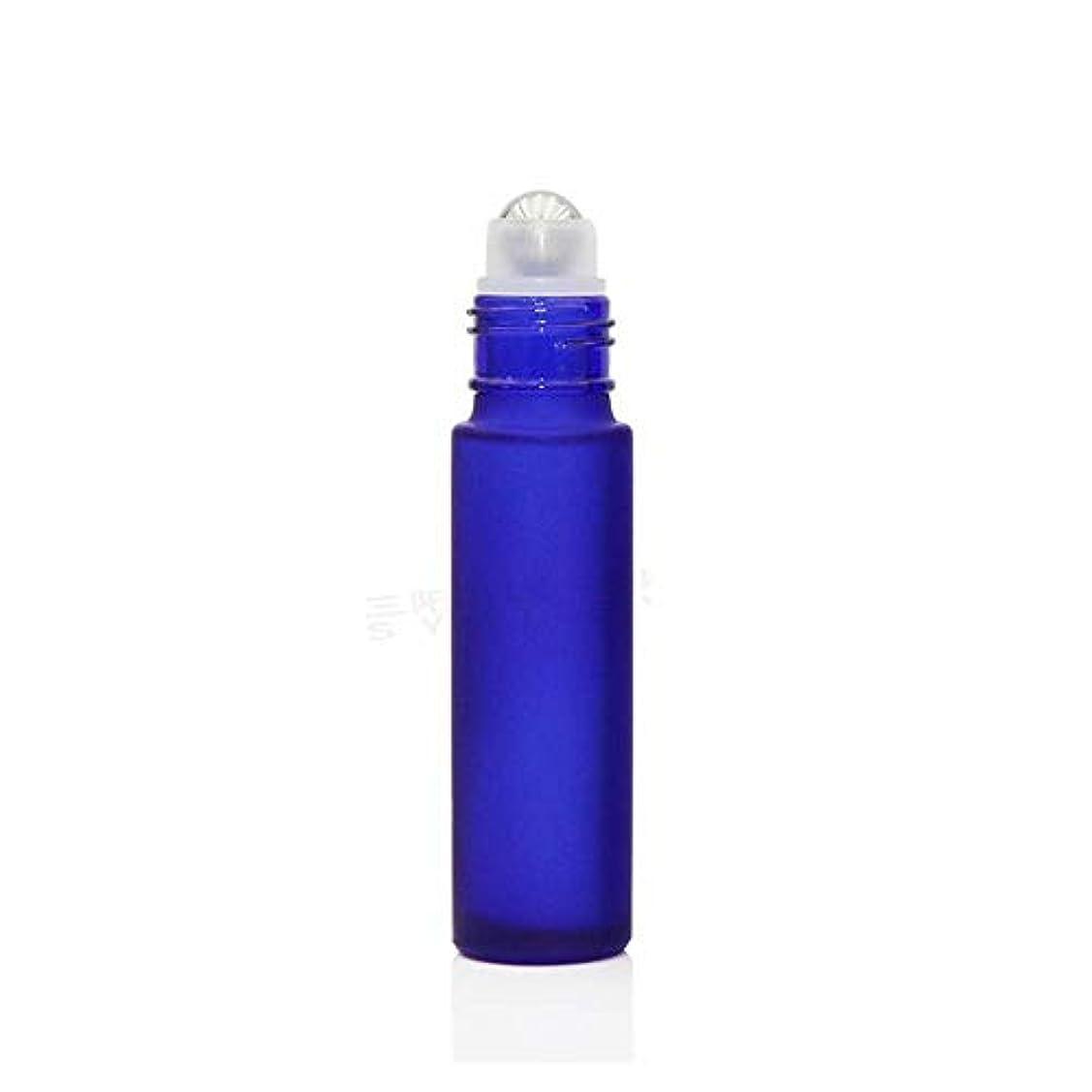 する必要がある家具ペルセウスgundoop ロールオンボトル アロマオイル 精油 小分け用 遮光瓶 10ml 10本セット ガラスロールタイプ (ブルー)