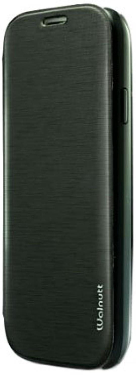 検証たとえ計算可能【日本正規代理店品】ZENUS Galaxy S4 SC-04E ケース Walnutt Flip Jacket モノブラック フリップタイプ W2069GS4