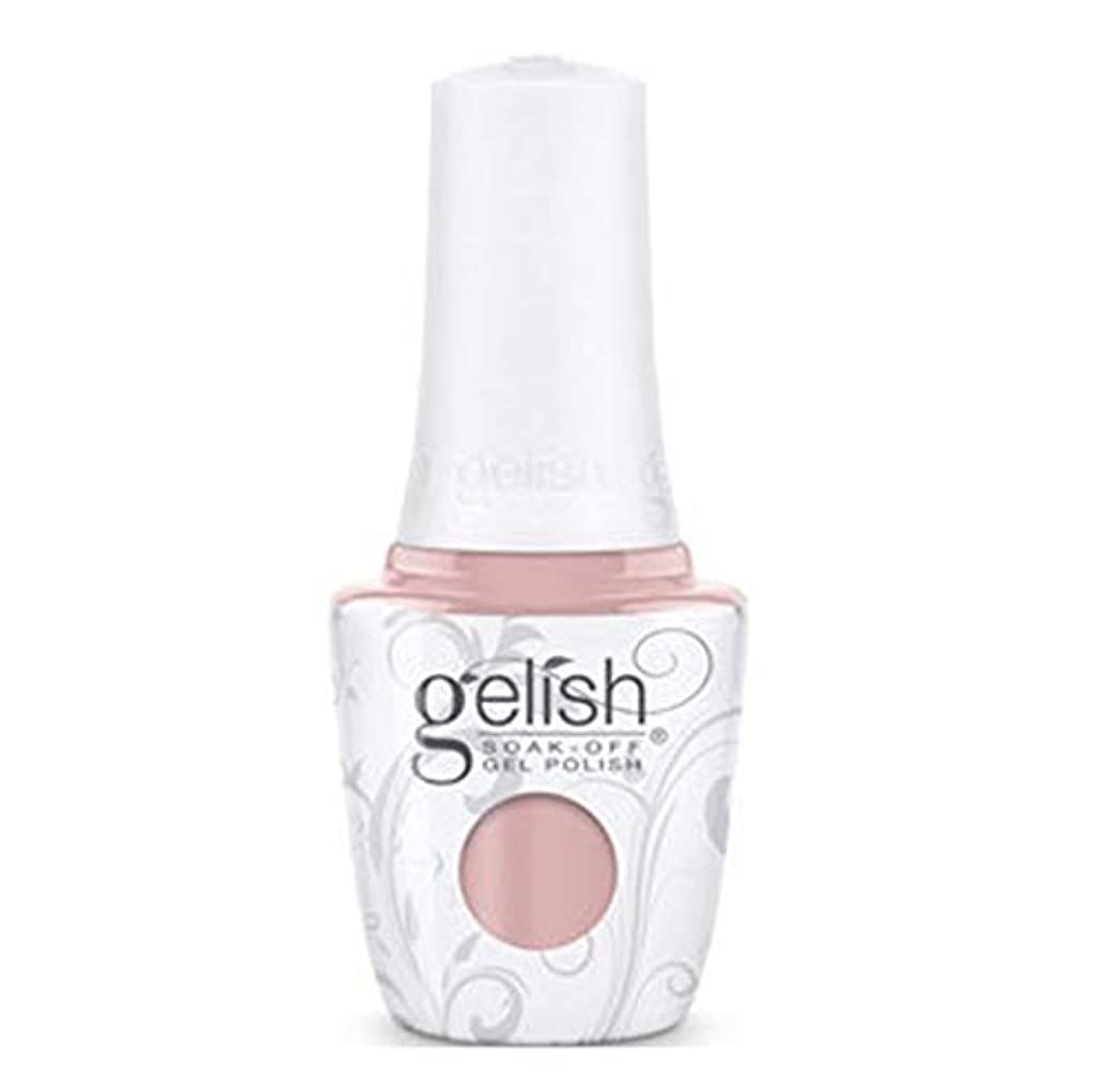 縮れた光行Harmony Gelish - The Color of Petals - Gardenia My Heart - 15 mL / 0.5 oz