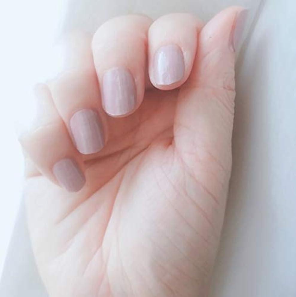 スリラーラフ睡眠効率的にネイルシート18ピース 定番カラー ピンクモカベージュ