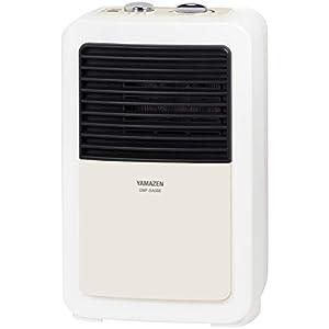 山善 ミニセラミックヒーター(温度調節機能付) レトロホワイト DMF-SA066(RW)