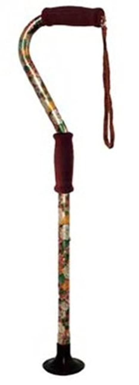 今体現する家主吉野商会 室内専用杖 ささえーる 花柄