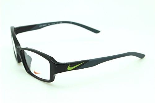男性用 nike ナイキ パソコン用メガネ PCメガネ 7880 004 AF ブルーライトカット 紫外線カット 伊達メガネ 度無 透明レンズ アジアンフィット 加工済み 専用ケース付属