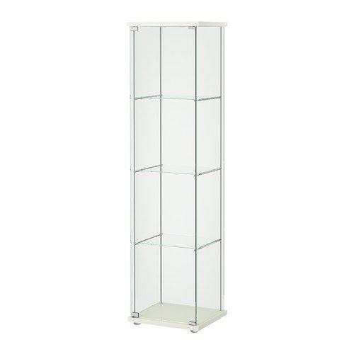 DETOLF ガラス扉キャビネット, ホワイト