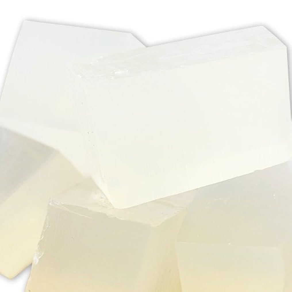 霧ハプニングブラインドMPソープ [グリセリンソープ] クリア SLSフリー 1kg 【手作り石鹸/ハンドメイドソープ】