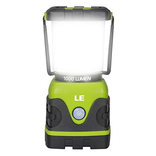 LE 電池式LEDランタン 超高輝度1000ルーメン 昼白色と暖色 4点灯モード 無限調光調色 防水