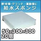 ノーブランド品 給水スポンジ スイトール グランド用品 50×300×300 20個入りセット