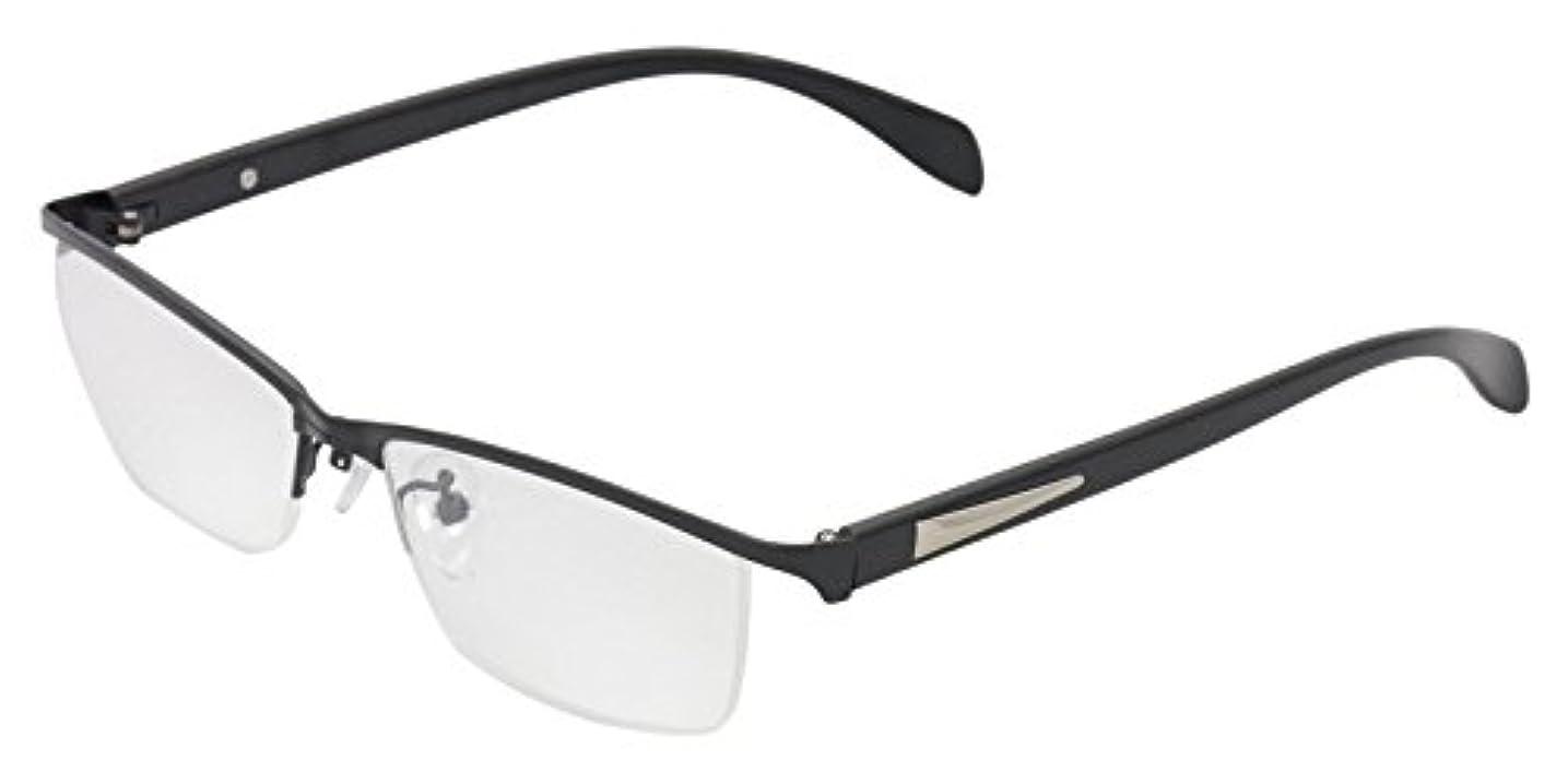 おじさん再集計に話すReD(レッド) 老眼鏡 リーディンググラス 度数 +2.50 CLAW ブラック