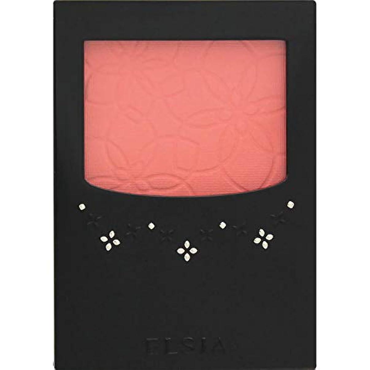 実質的にアルミニウムチキンエルシア プラチナム 明るさ&血色アップ チークカラー ピンク系 PK800 3.5g