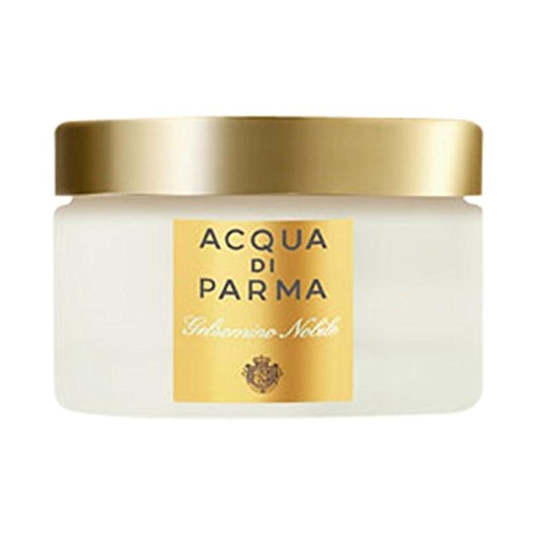 卵不規則な生き残りアクア?ディ?パルマGelsominoノビルボディクリーム150ミリリットル (Acqua di Parma) (x6) - Acqua di Parma Gelsomino Nobile Body Cream 150ml (Pack of 6) [並行輸入品]