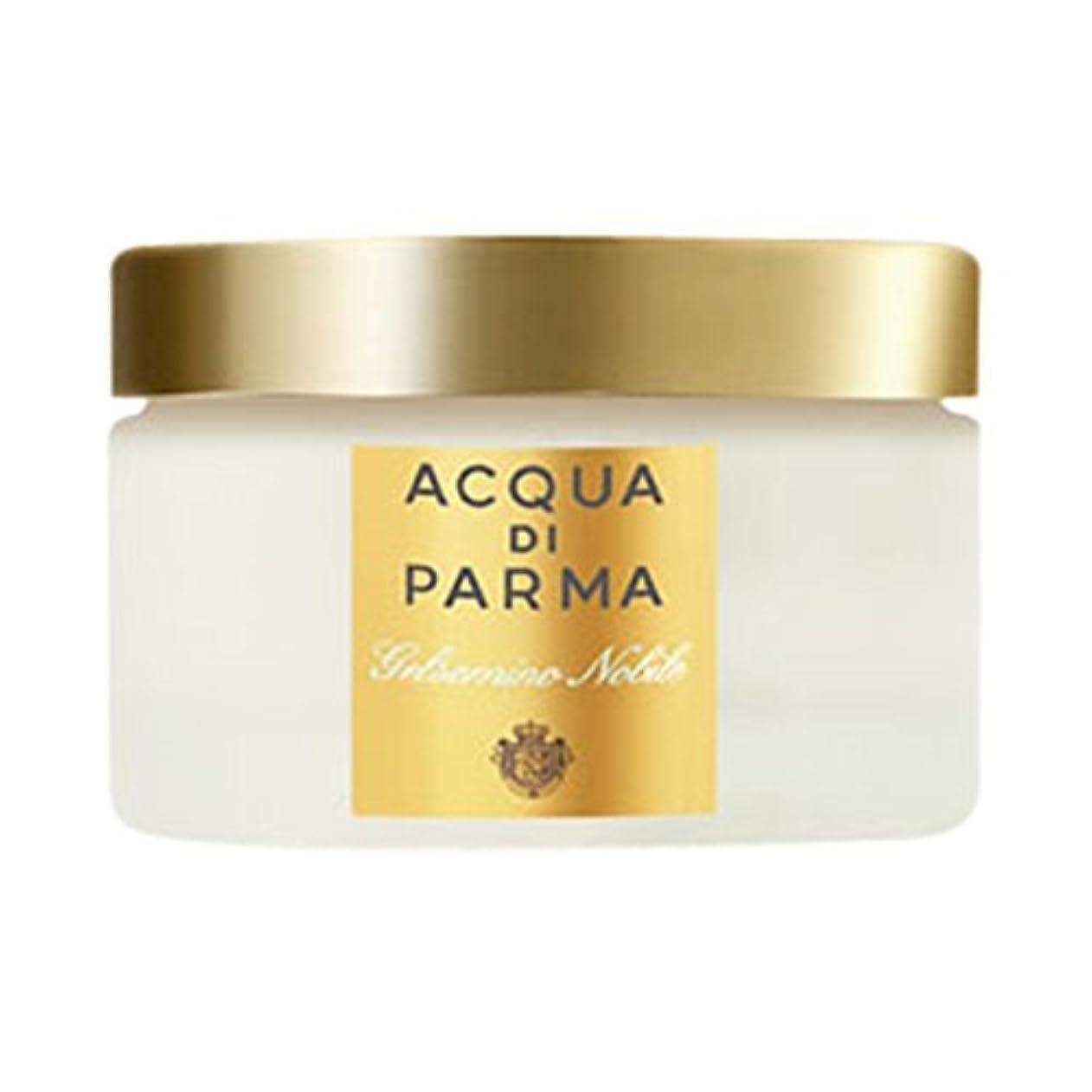 ボール一般的に言えばしてはいけないアクア?ディ?パルマGelsominoノビルボディクリーム150ミリリットル (Acqua di Parma) (x6) - Acqua di Parma Gelsomino Nobile Body Cream 150ml...