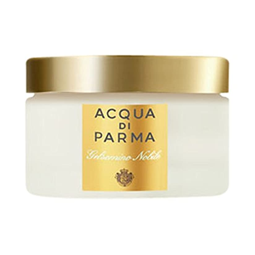 識別安心どこかアクア?ディ?パルマGelsominoノビルボディクリーム150ミリリットル (Acqua di Parma) (x6) - Acqua di Parma Gelsomino Nobile Body Cream 150ml...