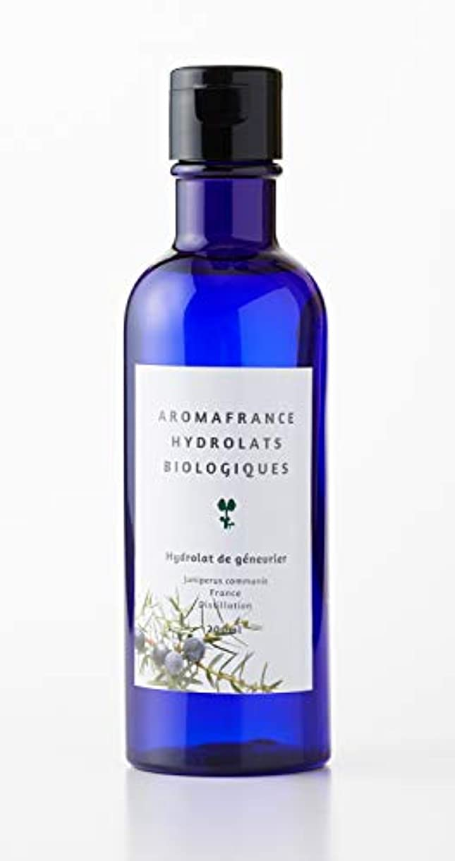 バンド立ち寄る溶けるアロマフランス(Aroma France)ハーブウォーター ジュニパー 200ml