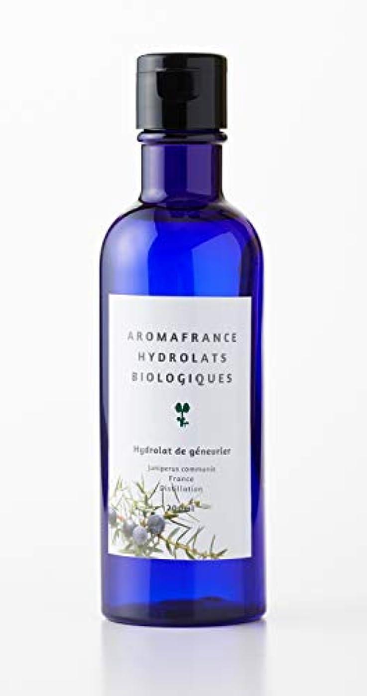 物質敗北補充アロマフランス(Aroma France)ハーブウォーター ジュニパー 200ml