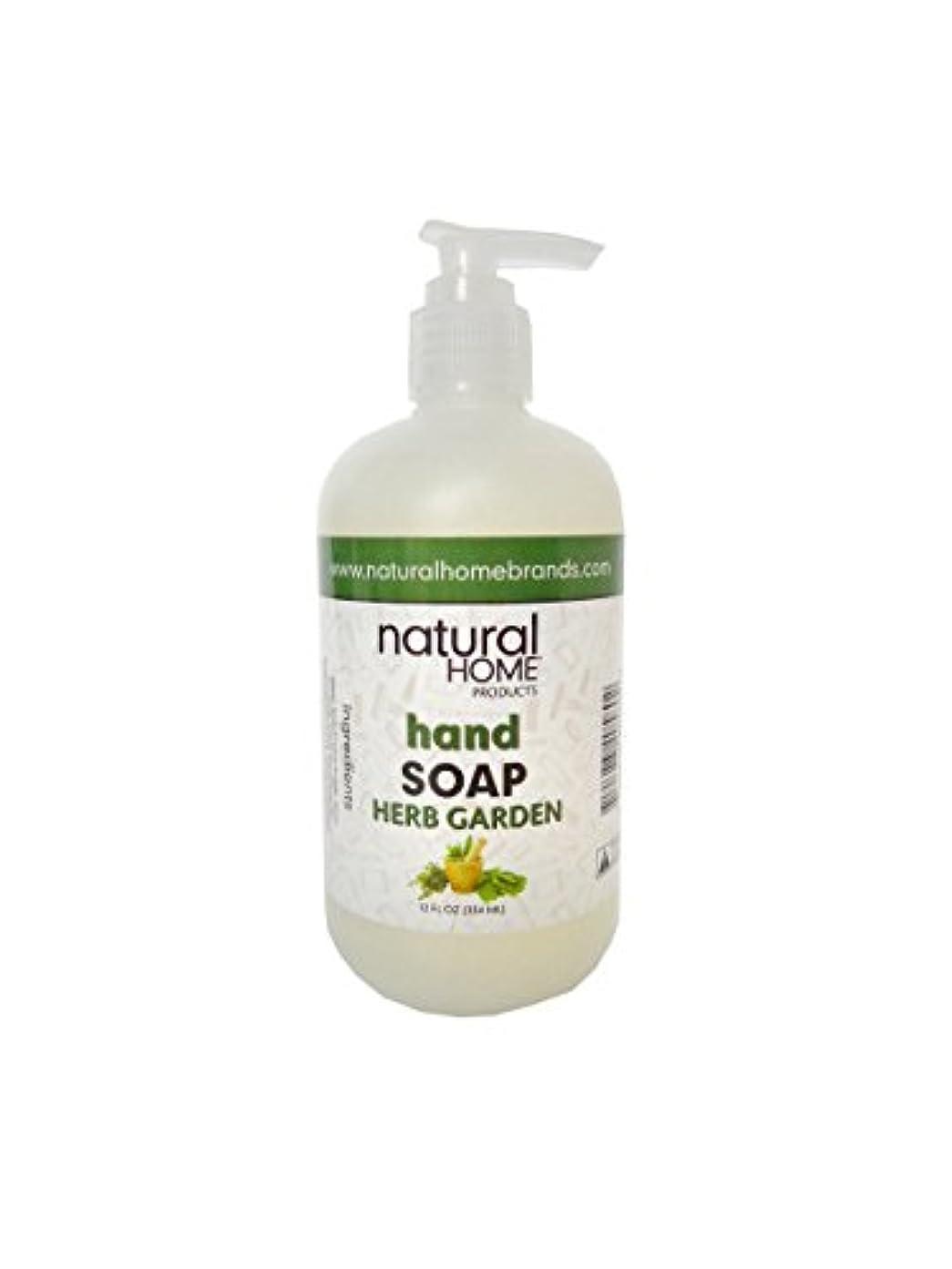 請求可能カトリック教徒重さNatural Home Herb Garden Hand Soap, 350ml, Green
