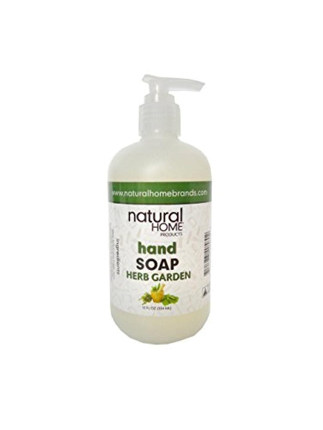 下着活発時計回りNatural Home Herb Garden Hand Soap, 350ml, Green