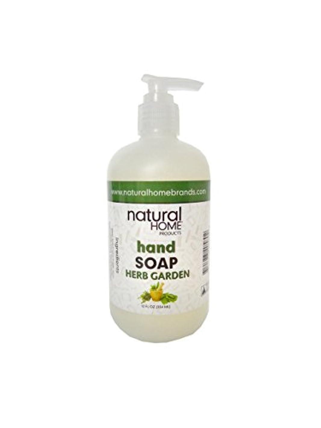 無一文テクニカルラケットNatural Home Herb Garden Hand Soap, 350ml, Green