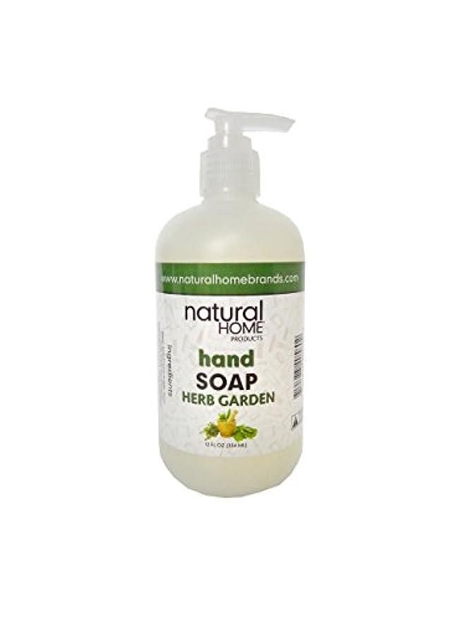 読みやすさ物質本気Natural Home Herb Garden Hand Soap, 350ml, Green