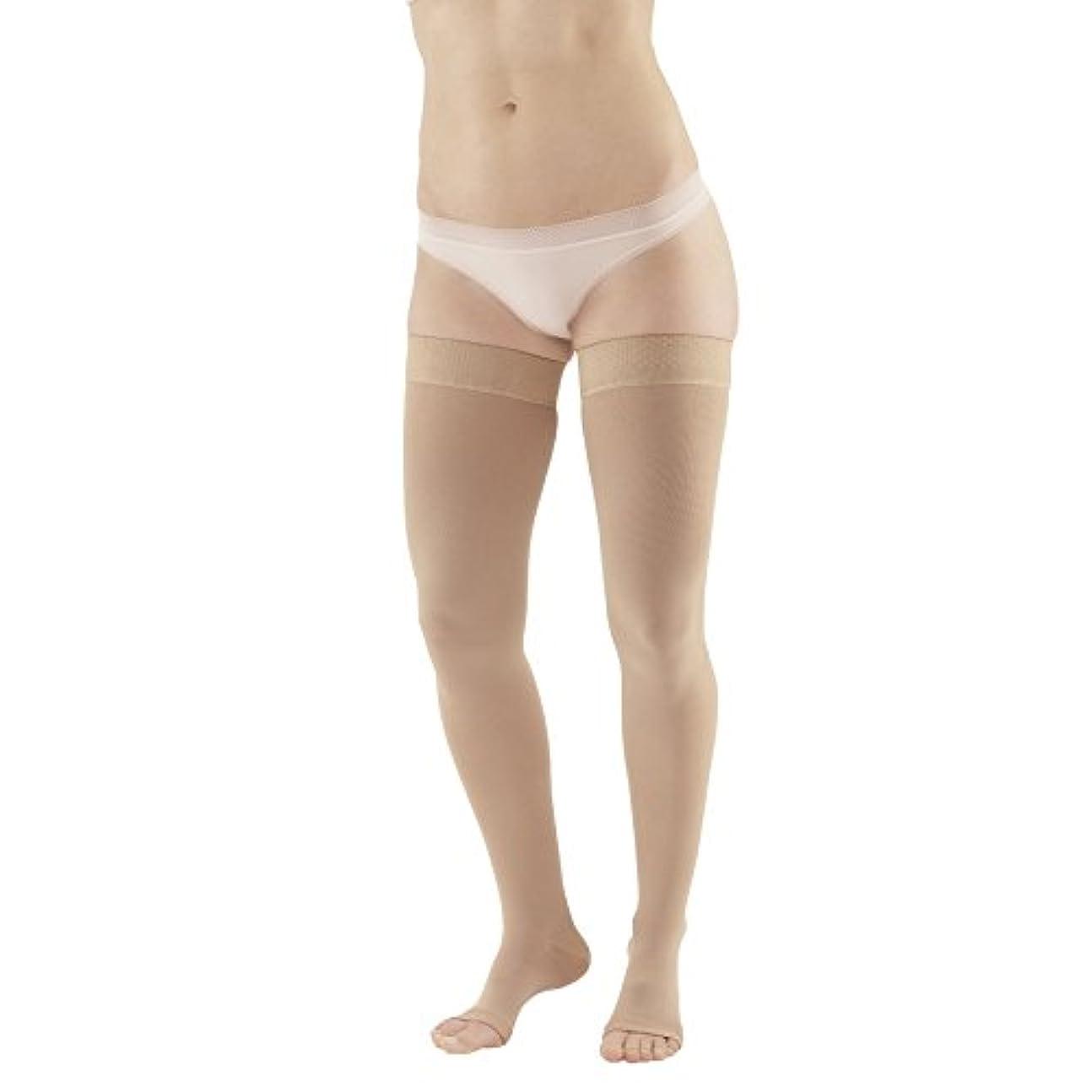 ガイダンス上に築きます確執Ames Walker Unisex AW Style 212 Medical Weight Open Toe Compression Thigh High Stockings w/ Silicone Dot Band - 20-30 mmHg Beige XXL 212-01-XXL-BEIGE Nylon/Spandex by Ames Walker