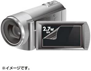 SANWA SUPPLY DG-LC27WDV 液晶保護フィルム(2.7型ワイドデジタルビデオカメラ用)