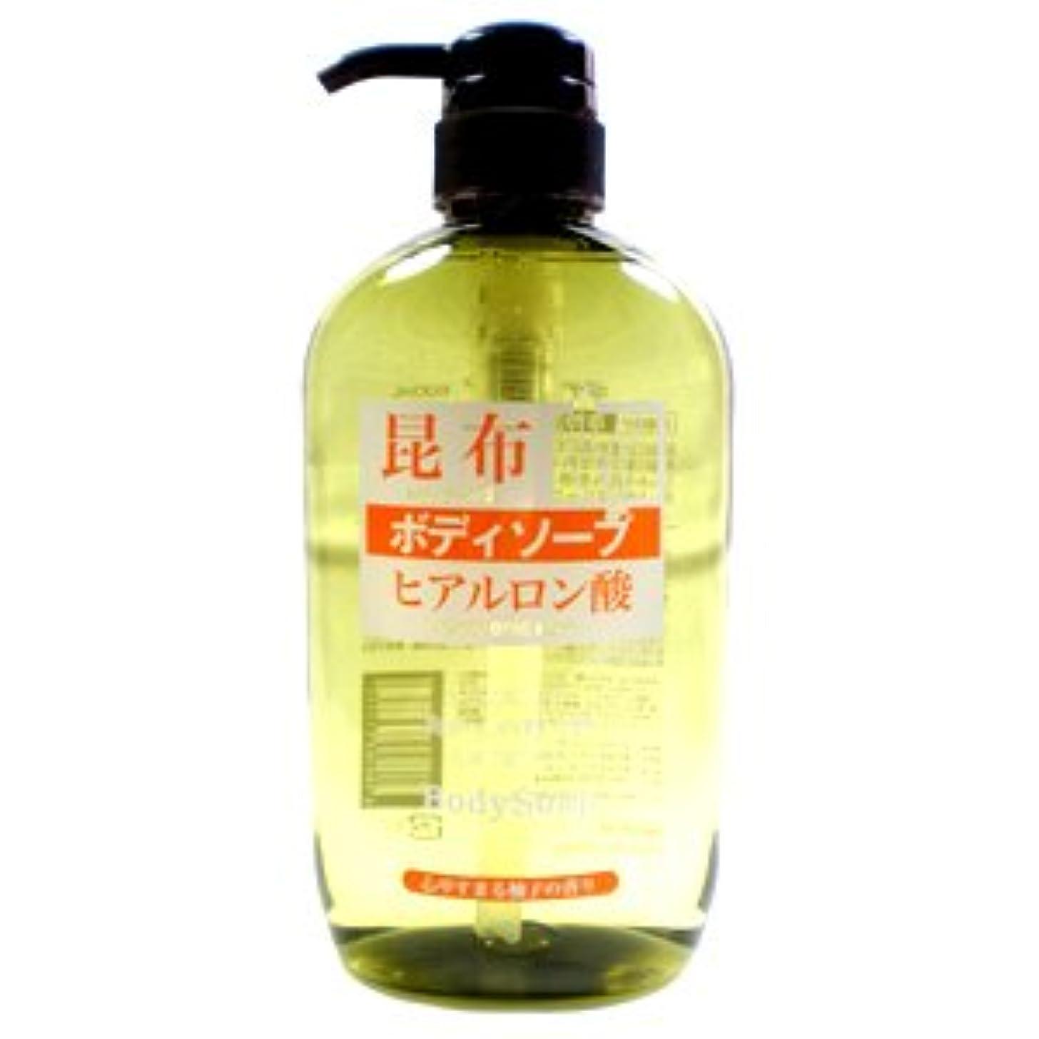 防腐剤必要酸っぱい日本製 昆布ボディソープ 600mL