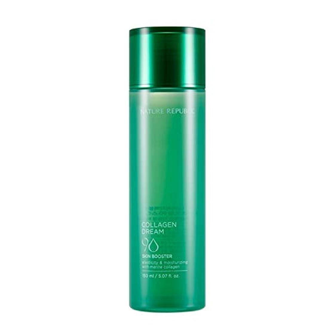 麦芽送る継承ネイチャーリパブリック(Nature Republic)コラーゲンドリーム90スキンブースター / Collagen Dream 90 Skin Booster 150ml :: 韓国コスメ [並行輸入品]