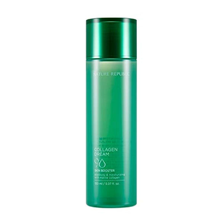 不条理焼く六分儀ネイチャーリパブリック(Nature Republic)コラーゲンドリーム90スキンブースター / Collagen Dream 90 Skin Booster 150ml :: 韓国コスメ [並行輸入品]
