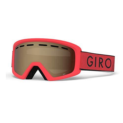 GIRO(ジロ) スキー ジュニア ゴーグル Rev(レヴ) レッド×ブラック ズーム 7083090