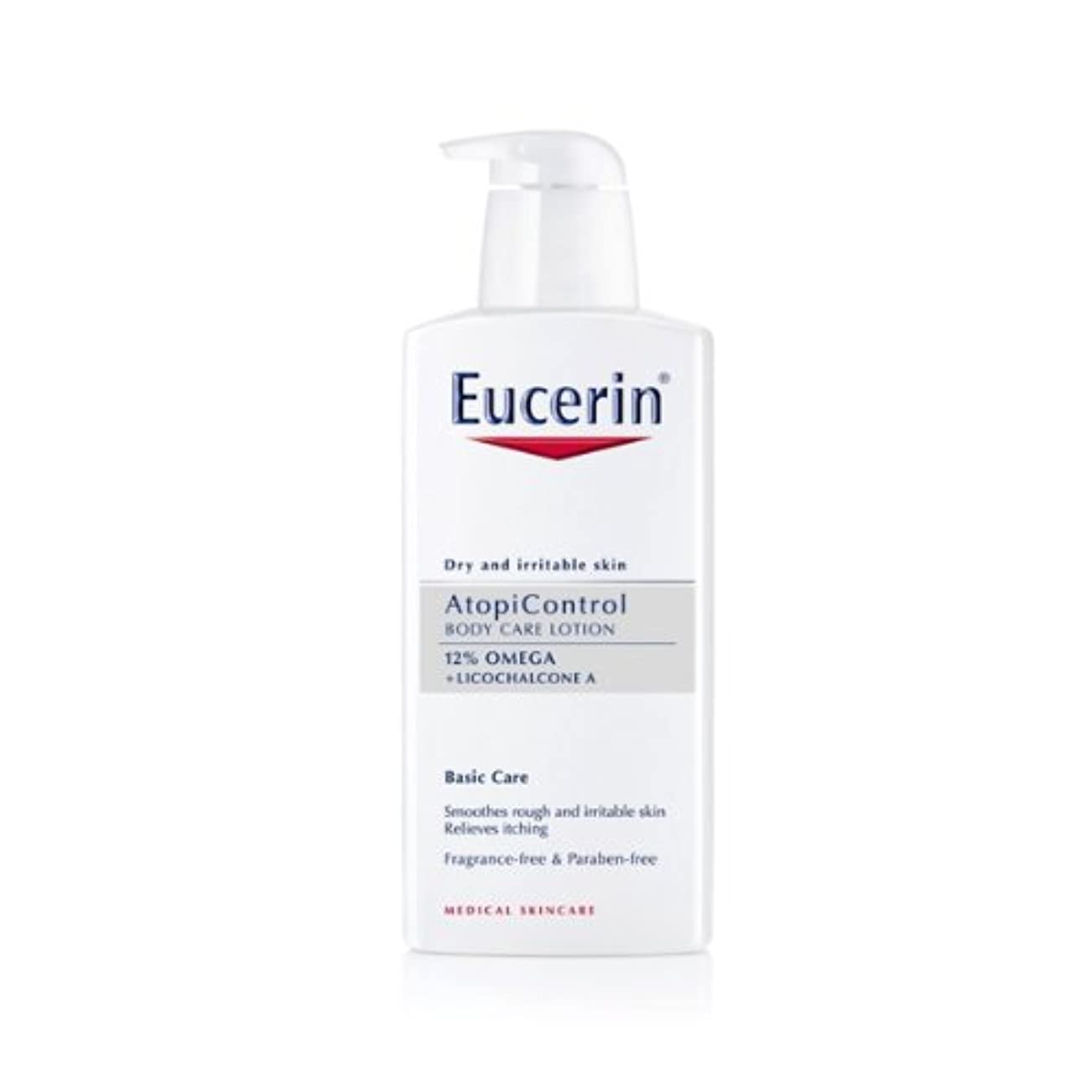 懐見えない君主Eucerin Atopicontrol Calming Body Lotion 400ml [並行輸入品]