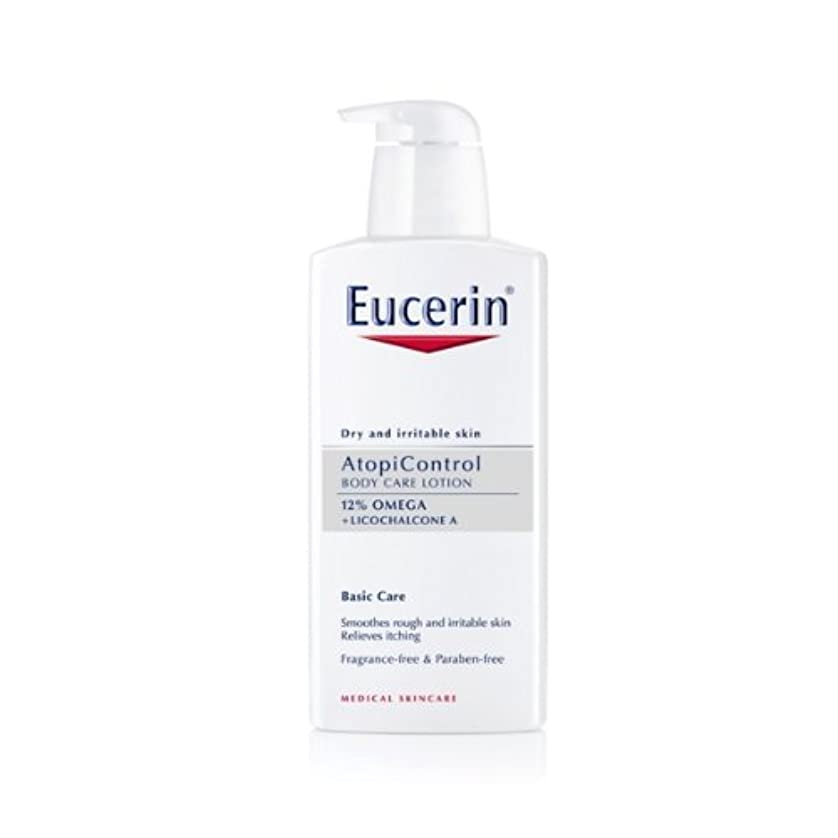 直接立場枕Eucerin Atopicontrol Calming Body Lotion 400ml [並行輸入品]