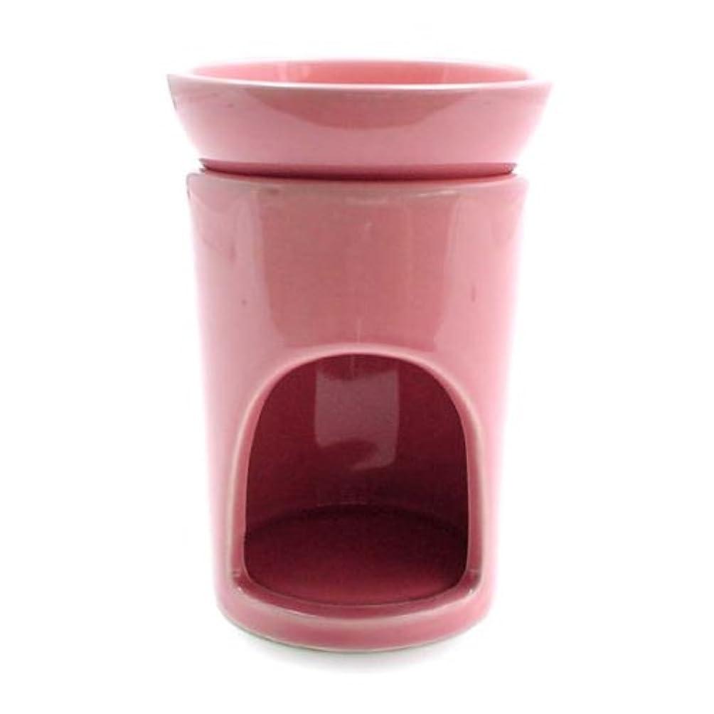 フラスコ寛大な意外スリムポット ピンク 1個