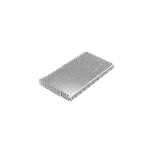iBUFFALO iPod nano 2012年発表モデル 専用 ラメソフトケース 液晶保護フィルム付 クリア BSIP12NCTLCR