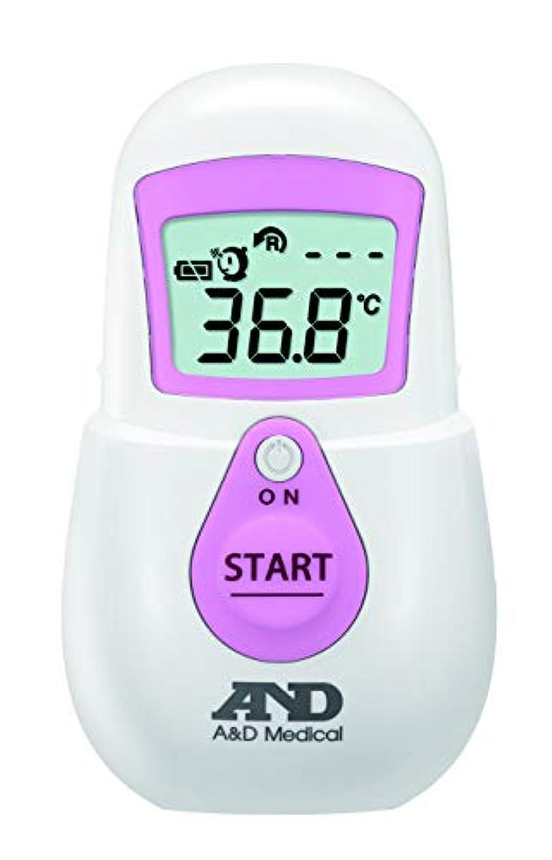 プレート優しいビクターエー?アンド?デイ 非接触体温計UT-701(でこピッと)ピンク