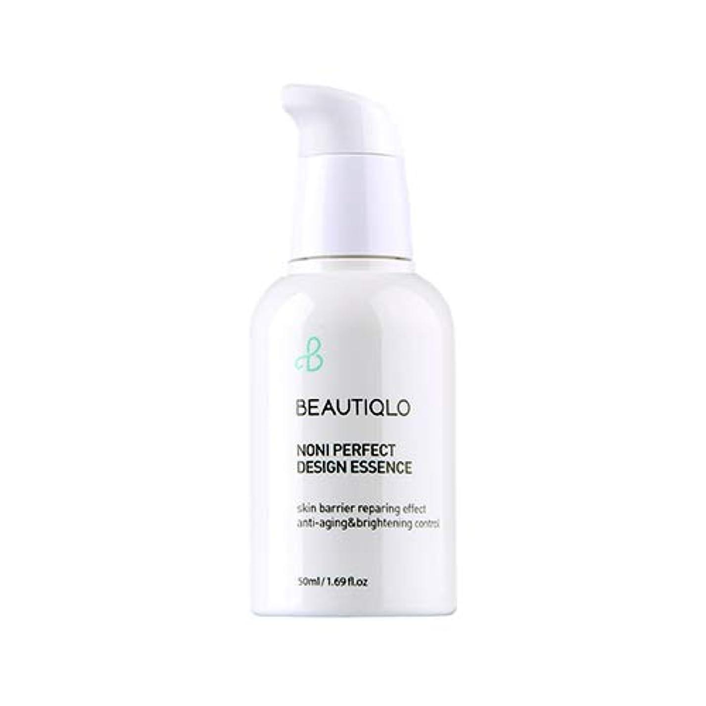 二次より多い剛性韓国化粧品 BEAUTIQLO NONI PERFECT DESIGN ESSENCE ビューティクロ ノニパーフェクトデザインエッセンス