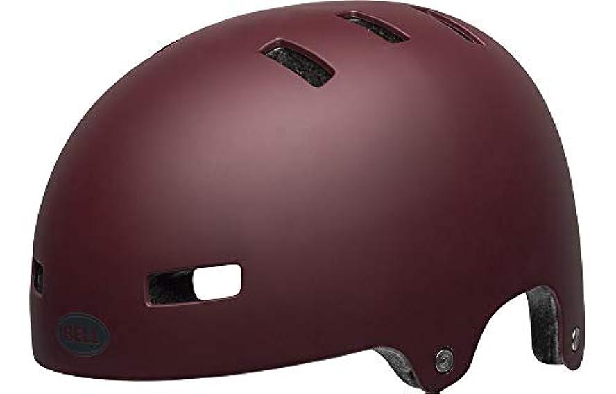 ベルト生きている滝BELL(ベル) ヘルメット ローカル マットマルーン Lサイズ 2019年モデル