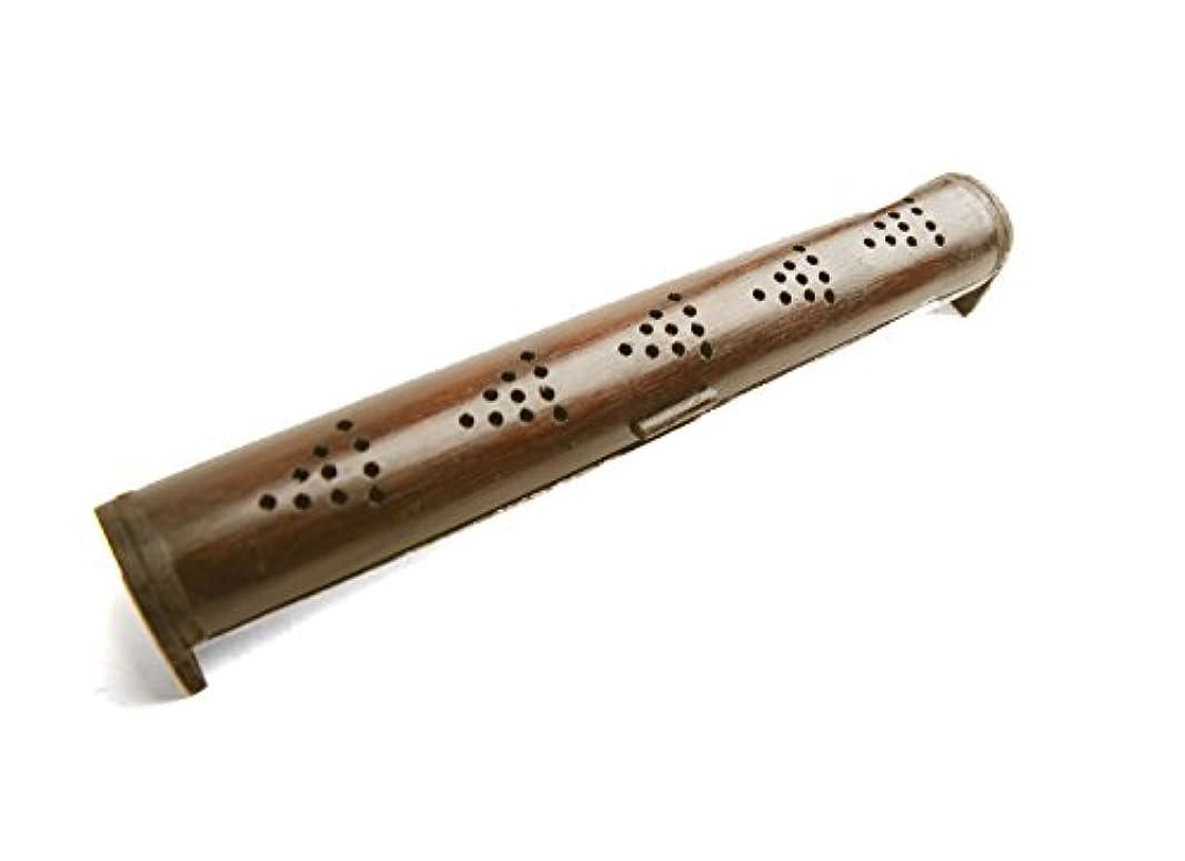 モニカブリークかき混ぜるMARAI(マーライ) ハンドメイドに魅せられて。ナチュラルバンブースティックタイプお香立てMサイズ ブラウン