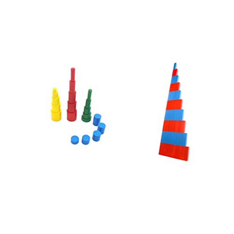 B Baosity 積み木 おもちゃ 想像力を育つ 知育玩具 おままごと 出産お祝い 数値ロッド お誕生プレゼント
