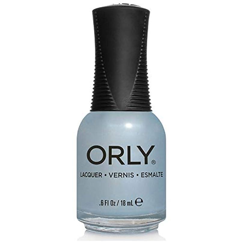 聡明エキサイティングシンカンOrly Nail Lacquer - Once In A Blue Moon - 0.6oz/18ml