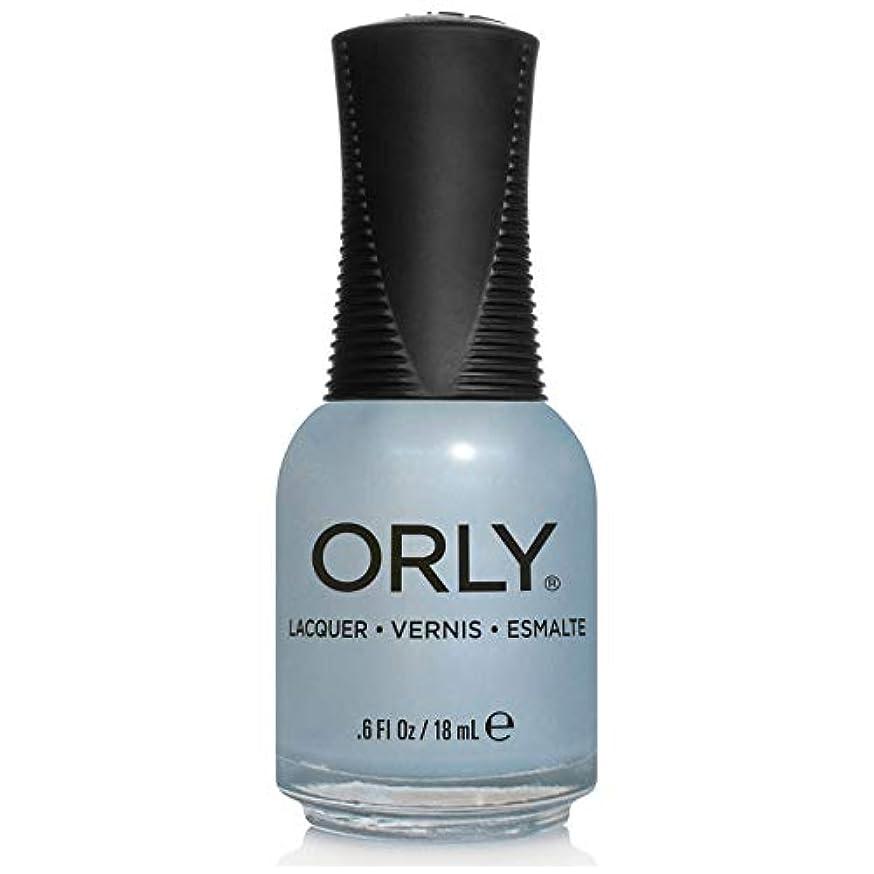 証明吸収剤誰でもOrly Nail Lacquer - Once In A Blue Moon - 0.6oz/18ml