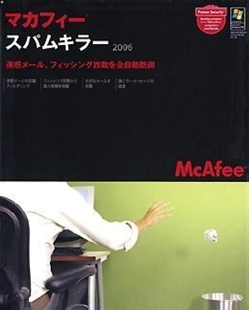 乳白色に対してしばしばマカフィー?スパムキラー 2006