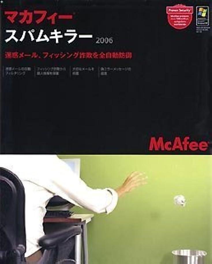 バーチャル配当劇場マカフィー?スパムキラー 2006