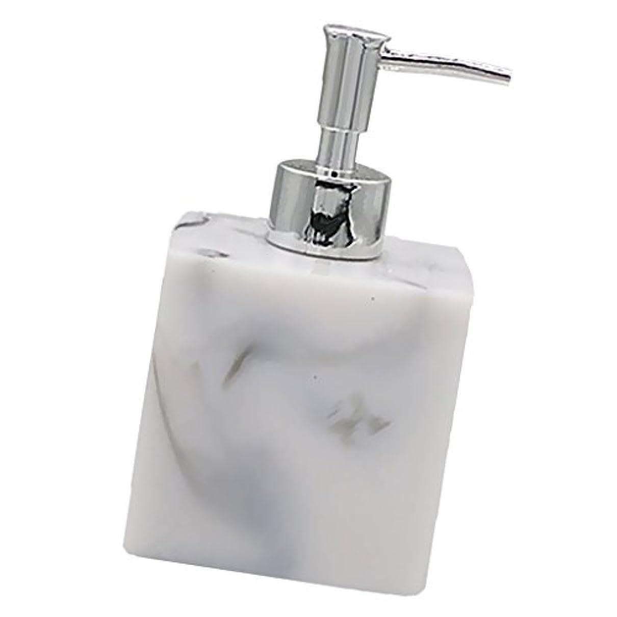 チーフゴージャス信号Baosity 実用性 石けん シャンプー ディスペンサー 5色 ポンプ式 液体ボトル バスルーム キッチン 耐久性 - 大理石