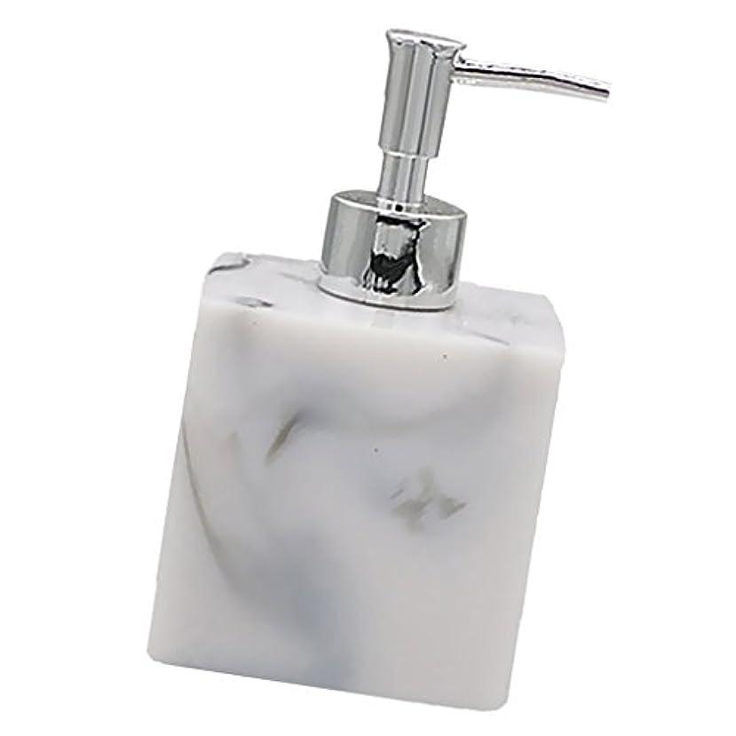 きれいに槍歌詞Baosity 実用性 石けん シャンプー ディスペンサー 5色 ポンプ式 液体ボトル バスルーム キッチン 耐久性 - 大理石
