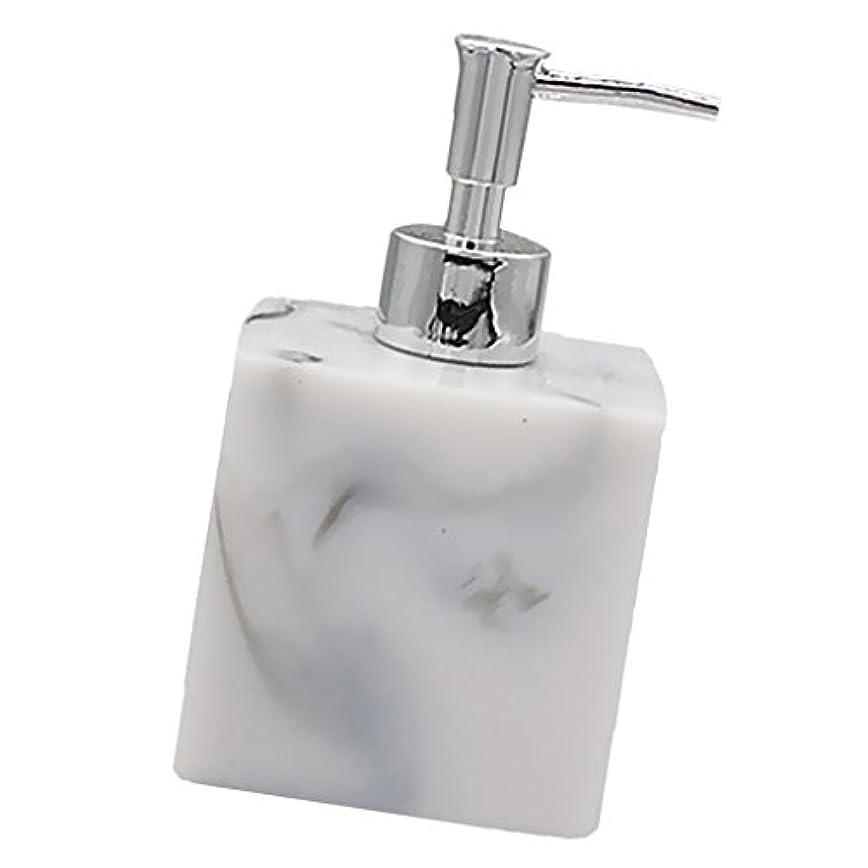 ドレイン甘いオート実用性 石けん シャンプー ディスペンサー 5色 ポンプ式 液体ボトル バスルーム キッチン 耐久性 - 大理石
