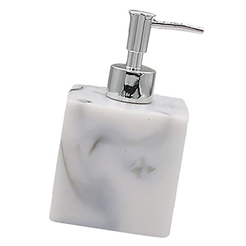 ロビー征服者用語集実用性 石けん シャンプー ディスペンサー 5色 ポンプ式 液体ボトル バスルーム キッチン 耐久性 - 大理石