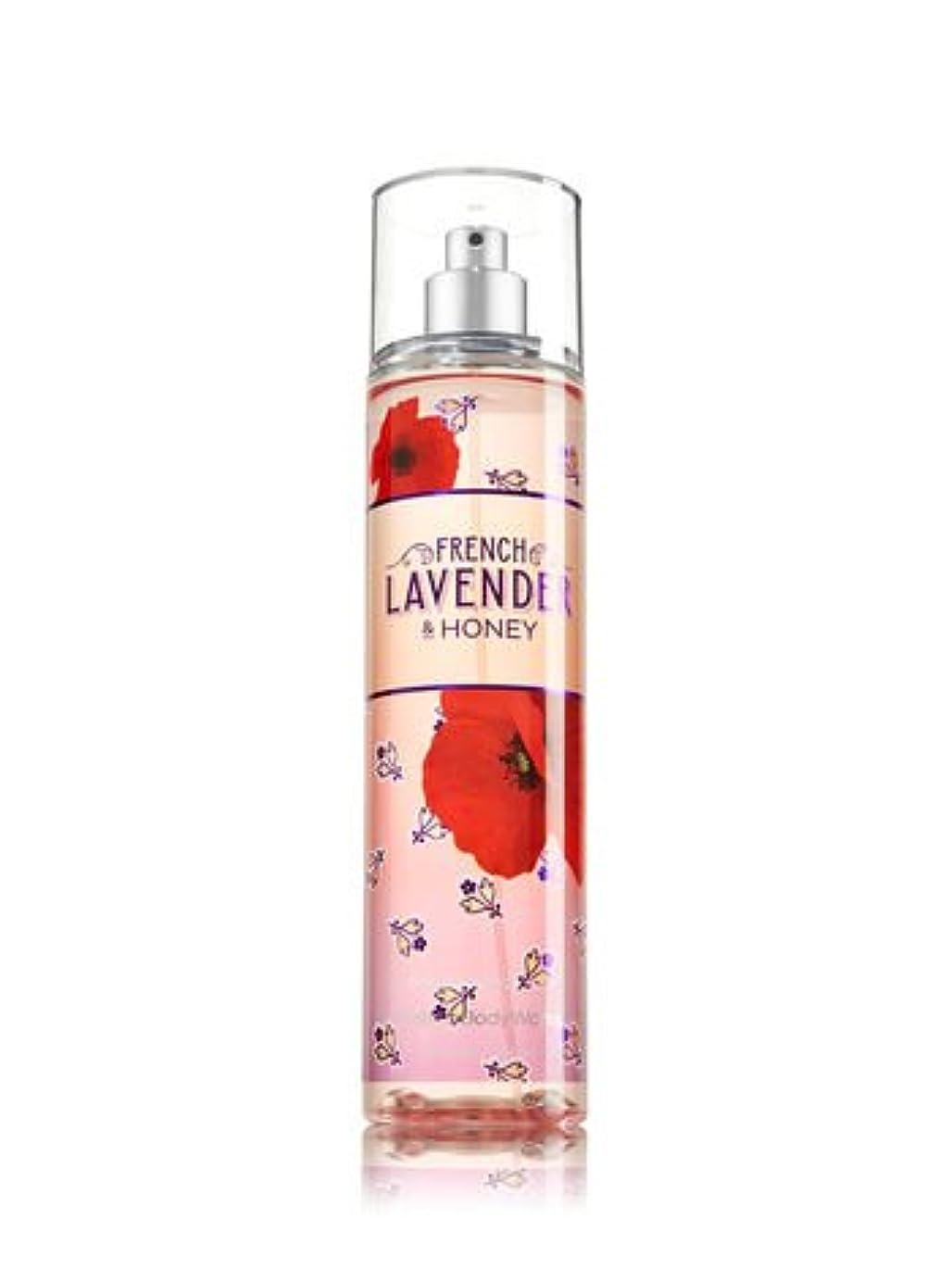 吸うヒップ旋回【Bath&Body Works/バス&ボディワークス】 ファインフレグランスミスト フレンチラベンダー&ハニー Fine Fragrance Mist French Lavender & Honey 8oz (236ml...