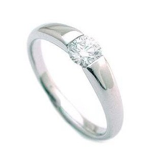 SUEHIRO (婚約指輪) ダイヤモンド プラチナ エンゲージリング 婚約指輪 指輪 リング (Brand Jewelry アニーベル) 18号