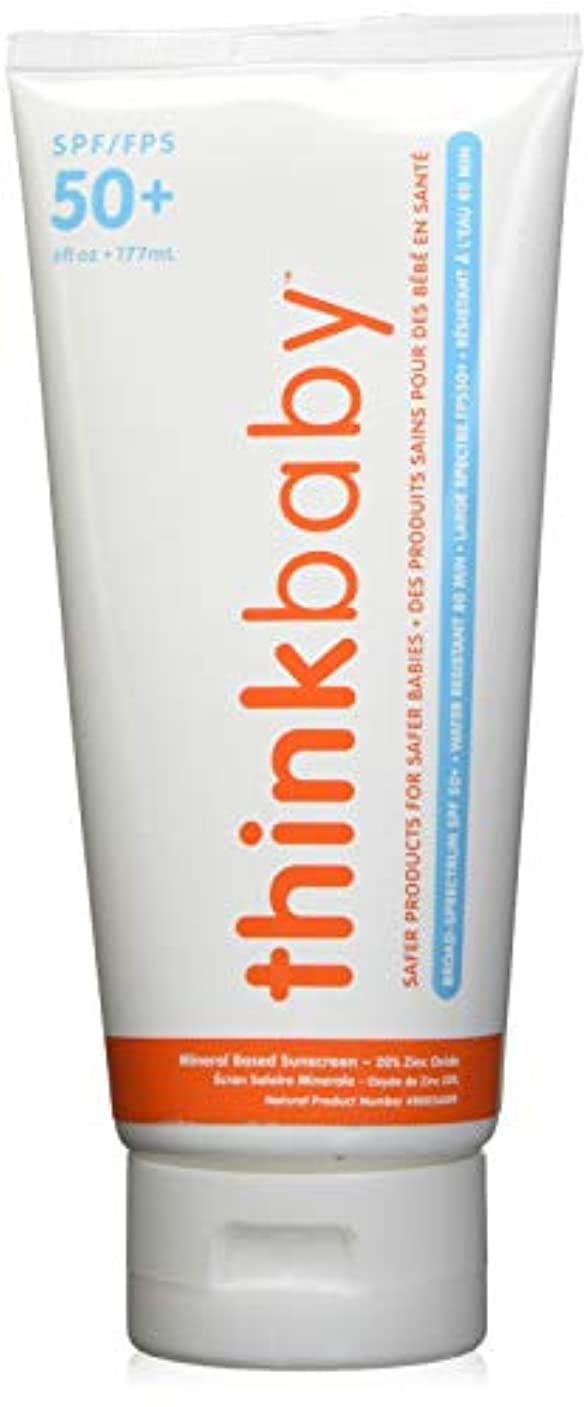 解明する電話レースThinkbaby Sunscreen - Safe - Baby - SPF 50 Plus - 6 oz