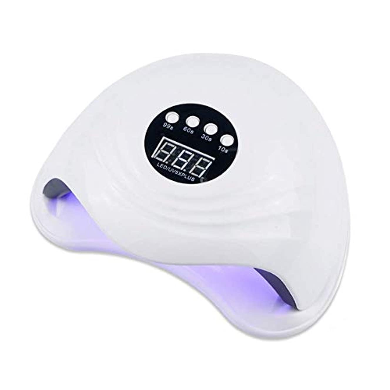 財政ポルノロープUV LEDネイルランプ、108Wハイパワースマート赤外線誘導速乾性無痛ネイルドライヤー(36個のデュアル光源ビーズ&4個のタイマープリセット付き)