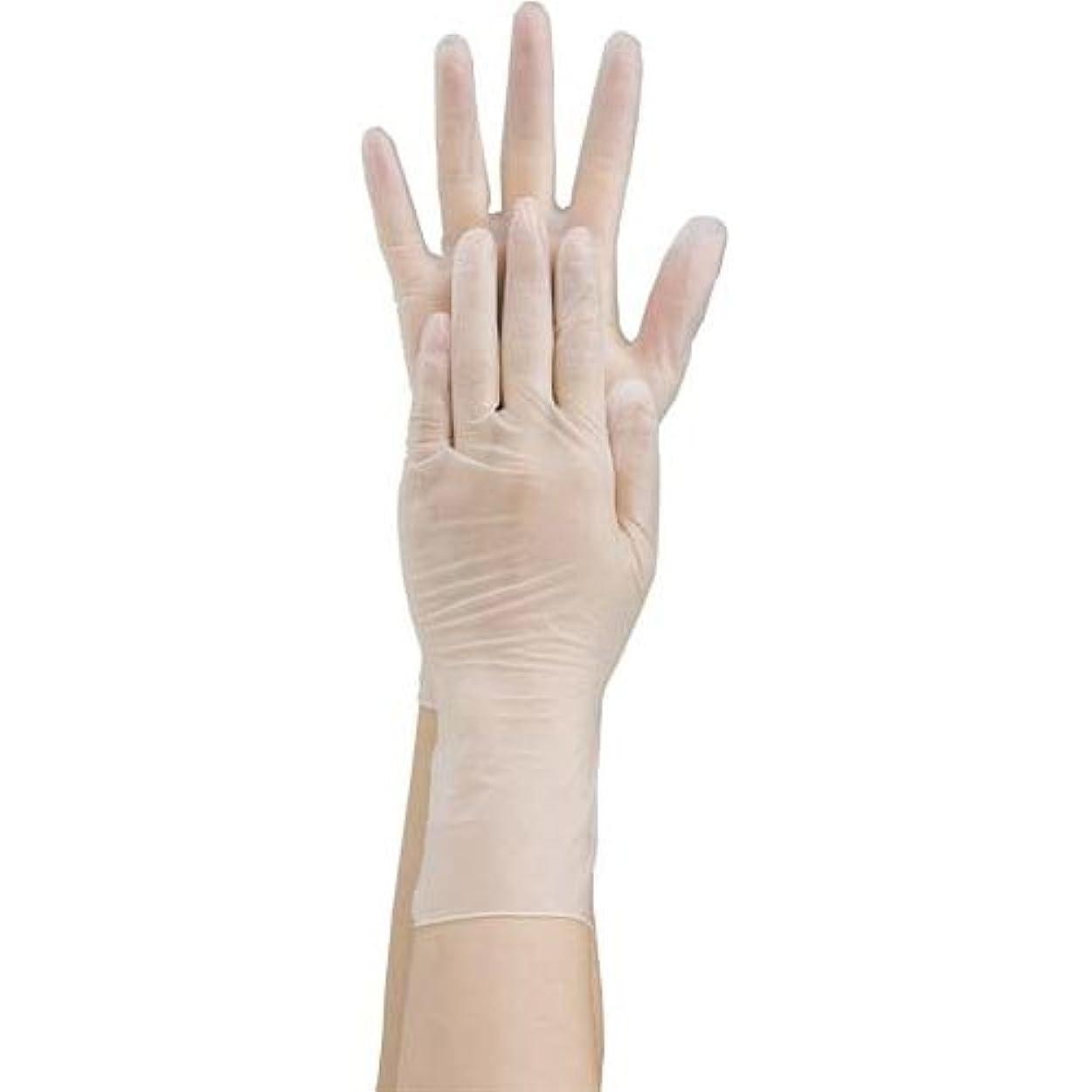 無数の笑レポートを書く共和 プラスチック手袋 粉無 No.2500 S 10箱